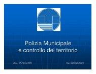 Scarica l'intervento (formato PDF) - Sistema delle autonomie locali
