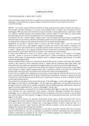 CONSIGLIO DI STATO - Sistema delle autonomie locali