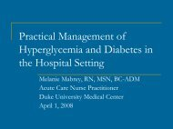 Managing Hyperglycemia in the Hospital - Advanced Clinical ...