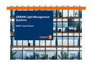 EASY Touch Panel - Osram