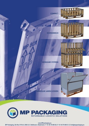 COMPACT eCOnOMisCh MOdulAir sysTeeM ... - MP Packaging