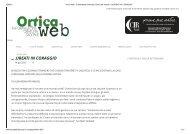 Articolo pubblicato su l'Ortica, 14 giugno 2013