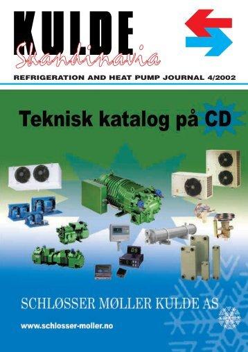 Pumper i brineanlæg - Kulde og Varmepumper