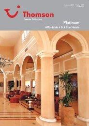 Platinum Privileges - The Travel House