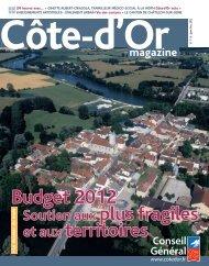 janvier/février 2012 en PDF - Conseil général de Côte-d'Or