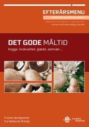 Menu fra Madservice Alborg efterår 2012 - Aalborg Kommune