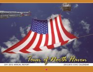 2013 Town Calendar - Town of North Haven, Connecticut