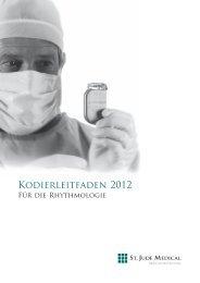 KODIERLEITFADEN 2012 - Für die Rhythmologie - St. Jude Medical