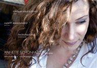 profil produktionen partien pressestimmen - Schönmüller, Annette