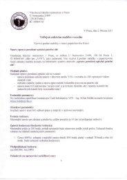 Zadávací dokumentace - Všeobecná fakultní nemocnice v Praze