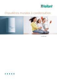 Chaudières murales à condensation - Facq