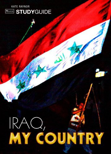 to download IRAQ, MY COUNTRY study guide - Ronin Films