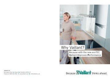 ecoTEC consumer brochure - Vaillant