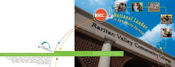 RVCC 09-10 Annual Report.indd - Raritan Valley Community College