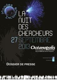 DOSSIER DE PRESSE - Océanopolis