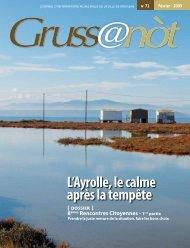 Lo Grussanòt Février 2009 PDF - 1 Mo - Gruissan