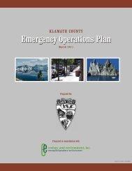 Klamath County Emergency Operations Plan
