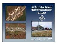 Nebraska Truck - Nebraska Department of Roads - State of Nebraska
