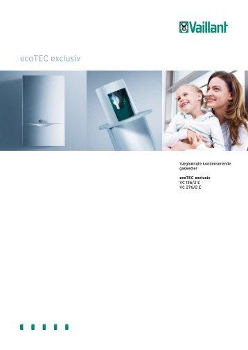 ecoTEC exclusiv - Privatgrossisten