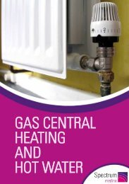 Gas central heating and hot water - Spectrum Housing Group