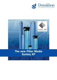The new Filter Media Synteq XP