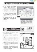Notice d'Installation, d'Utilisation de l'appareil et Bon de garantie - Page 5