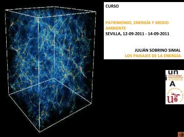 Los paisajes de la energía. Julián Sobrino - IAPH. Instituto Andaluz ...