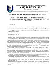 cercetari privind tensiunea vaporilor de autogaz - Universitatea ...