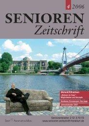 Die gesamte Ausgabe 4/2006 als pdf-Datei - Senioren Zeitschrift ...