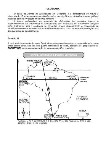 Prova comentada - Vestibular UFSC/2008