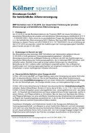 BMF-Schreiben vom 31.03.2010: Zur steuerlichen ... - Kölner Spezial