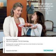 Motion brosjyre sluttbruker - Siemens Hearing Instruments
