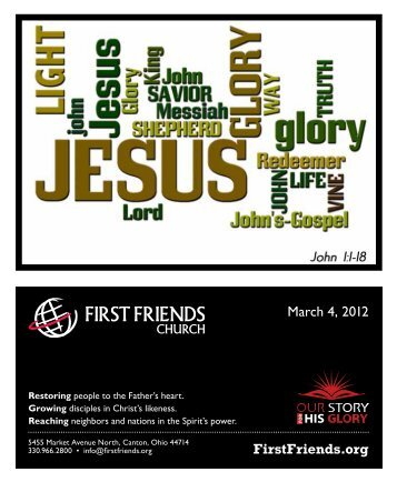 March 4, 2012 - First Friends Church