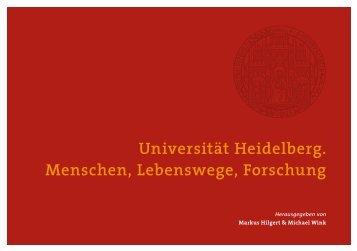 Leseprobe - Gesellschaft der Freunde Universität Heidelberg eV