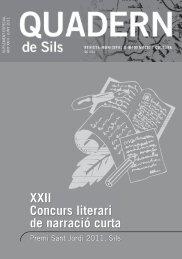 """XXII CONCURS LITERARI DE NARRACIÃ"""" CURTA"""