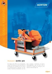 Blockstein Jumbo 900 - Norton Construction Products