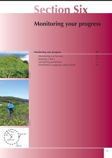Monitoring your progress - Weeds Australia