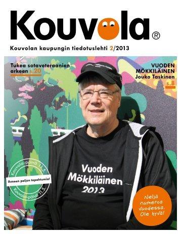 Kouvolan kaupungin tiedotuslehti 2/2013