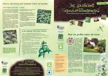 Je jardine avec l'environnement n°2 - Ville de Lannion