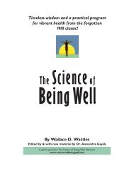 The Science of Being Well, v. 1.0 - Heal South Africa