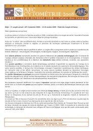 Mise en page 1 - Alpha Visa Congrès