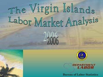 Bureau of Labor Statistics - VI DOL