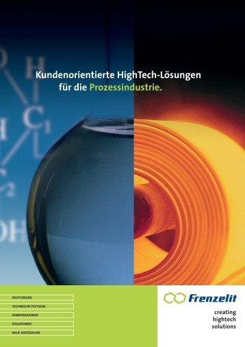 Download Broschüre Prozessindustrie - Frenzelit Werke GmbH