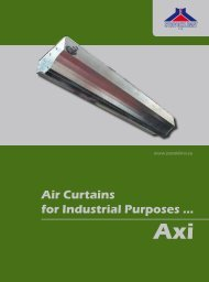 Air Curtains for Industrial Purposes ...Axi - VT Princips