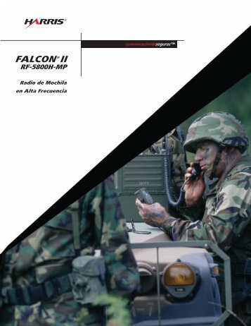 falcon®ii rf-5800h-mp - Harris Corporation