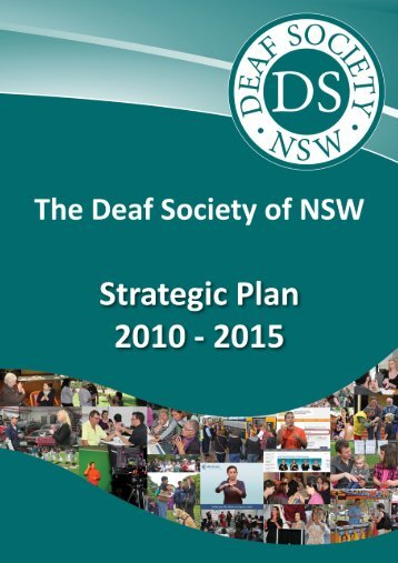 Strategic Plan - The Deaf Society of NSW