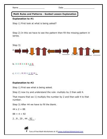 Dilations and Scale Factors Lesson - Math Worksheets Land