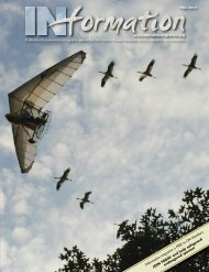 IN formation magazine is FREE to OM Members - Operation Migration