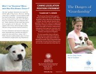 """The Dangers of """"Guardianship"""" - American Kennel Club"""
