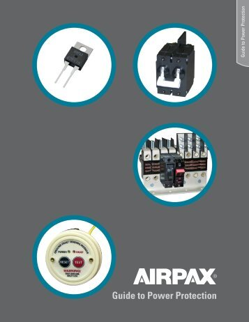 Guide to Power Protection - Airpax - Sensata